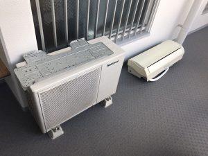 東灘区でエアコンを無料回収しました