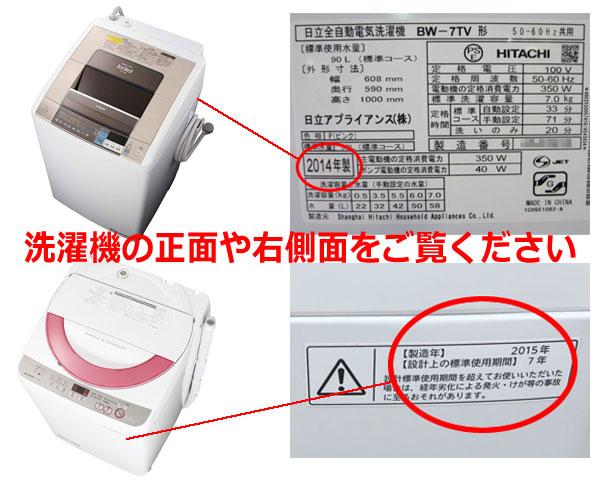 洗濯機を高価買取しています。