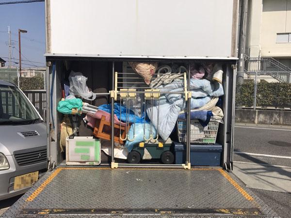 神戸市で不用品の回収をしています。